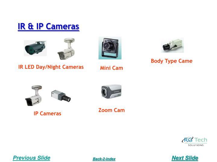 IR & IP Cameras