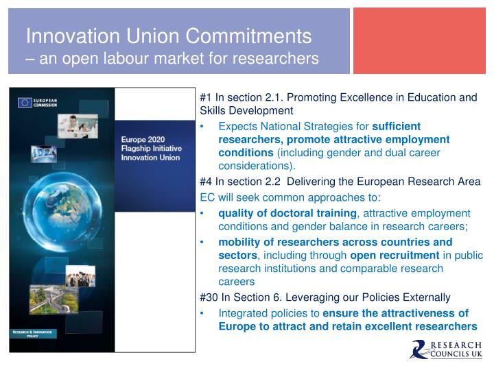 Innovation Union Commitments