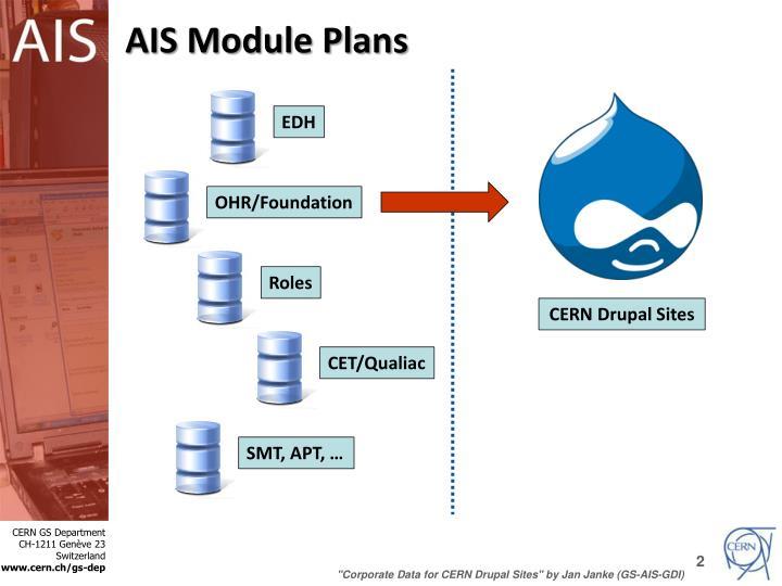 AIS Module Plans