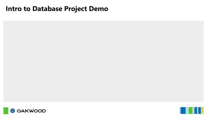 Intro to Database Project Demo
