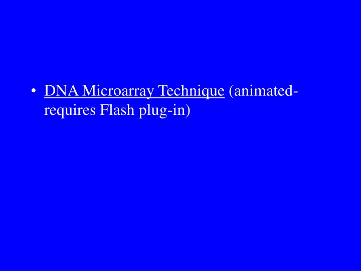 DNA Microarray Technique