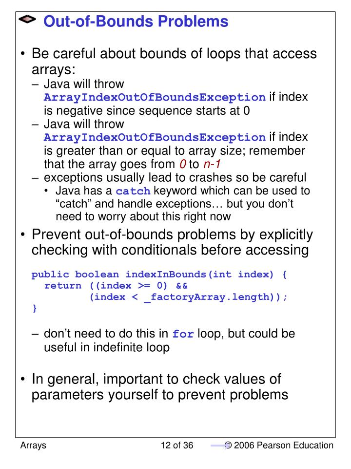 Out-of-Bounds Problems