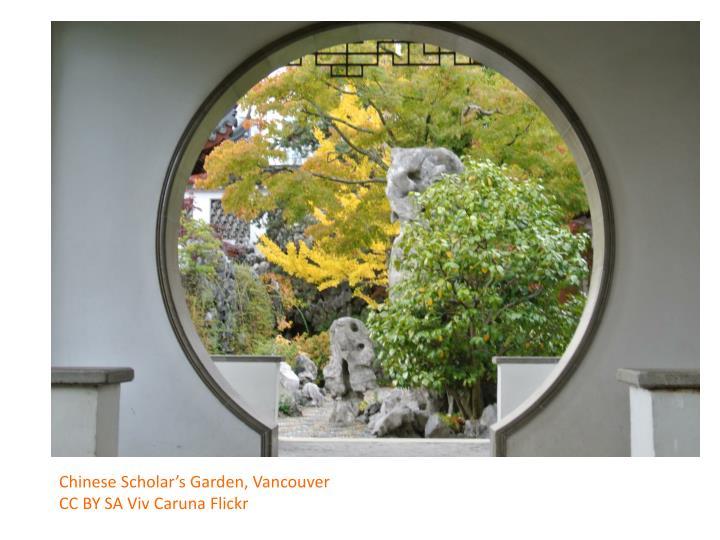 Chinese Scholar's Garden, Vancouver