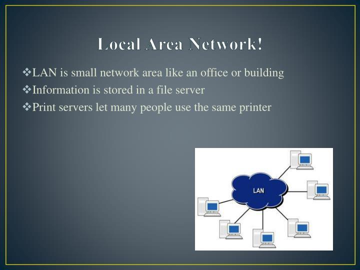 Local Area Network!
