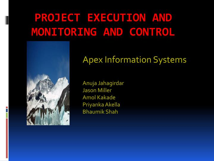 Apex Information Systems