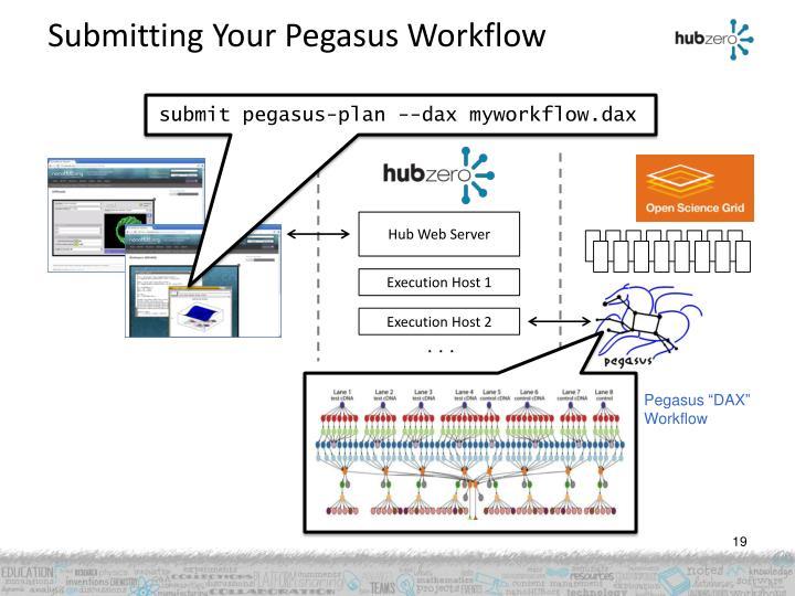 Submitting Your Pegasus Workflow