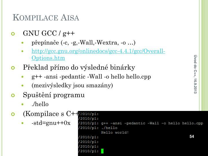 GNU GCC
