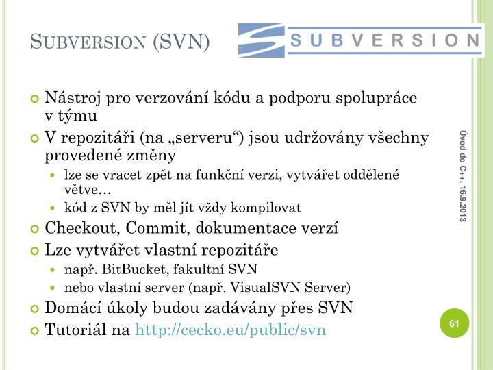 Subversion (