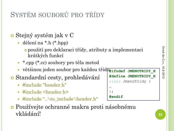 Systém souborů