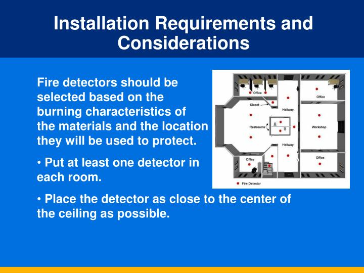 Installation Requirements and Considerations