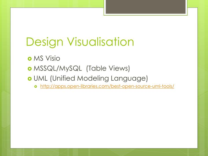 Design Visualisation
