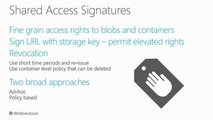 Shared Access