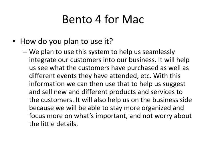 Bento 4 for Mac