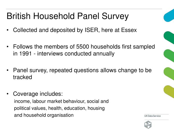 British Household Panel Survey