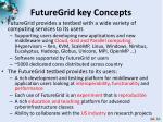 futuregrid key concepts