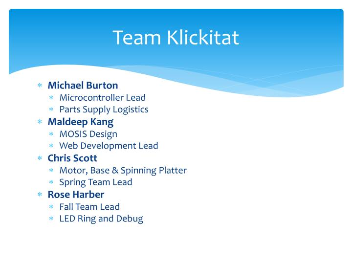 Team Klickitat