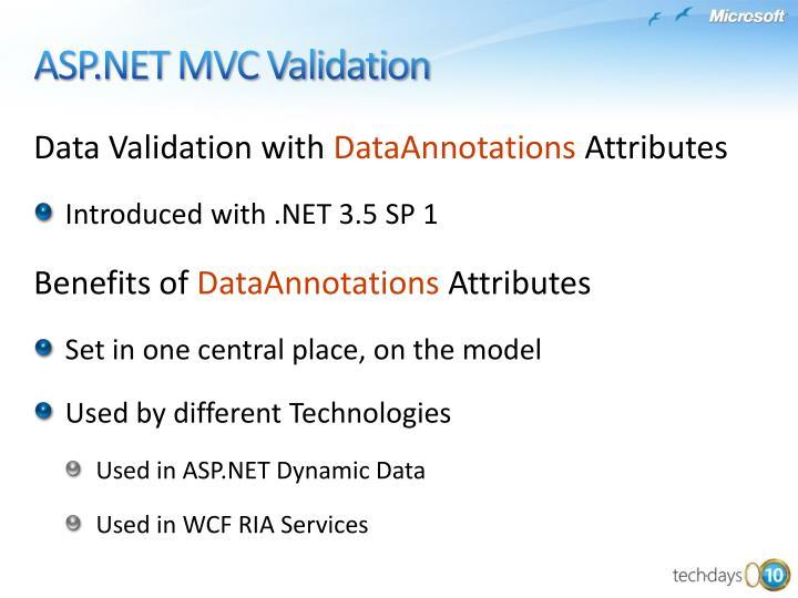 Data Validation with