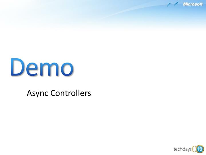 Async Controllers