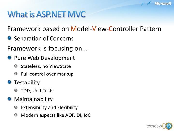 Framework based on