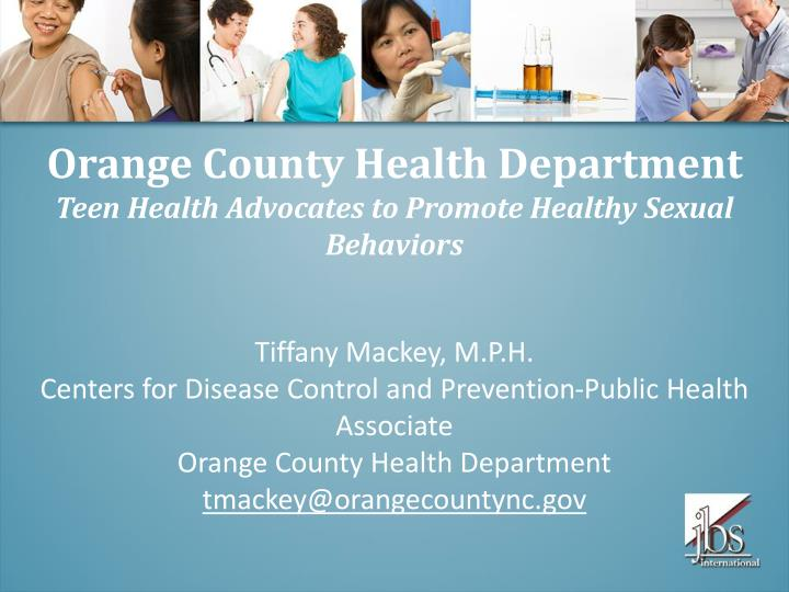 Orange County Health Department