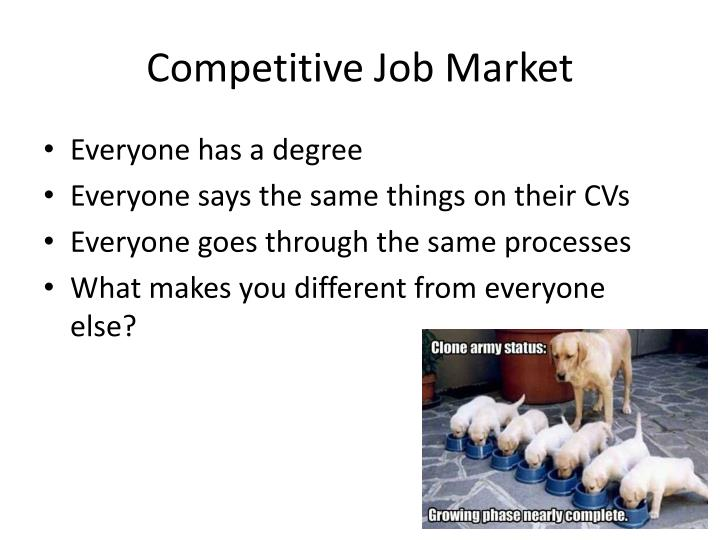 Competitive Job Market