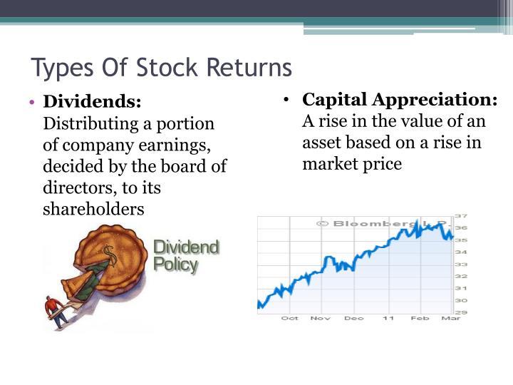 Types Of Stock Returns