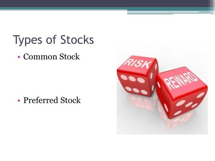 Types of Stocks