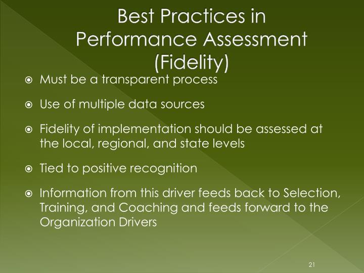 Best Practices in