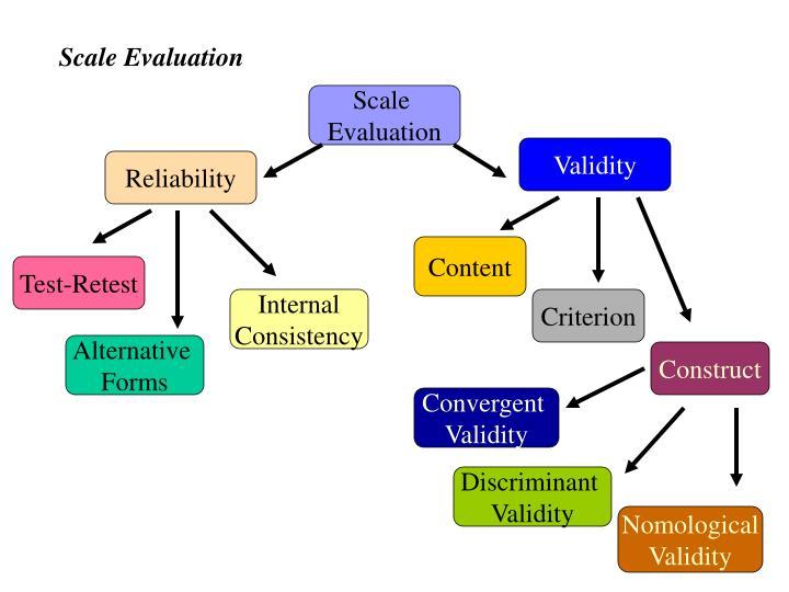 Figure 10.6 Scale Evaluation