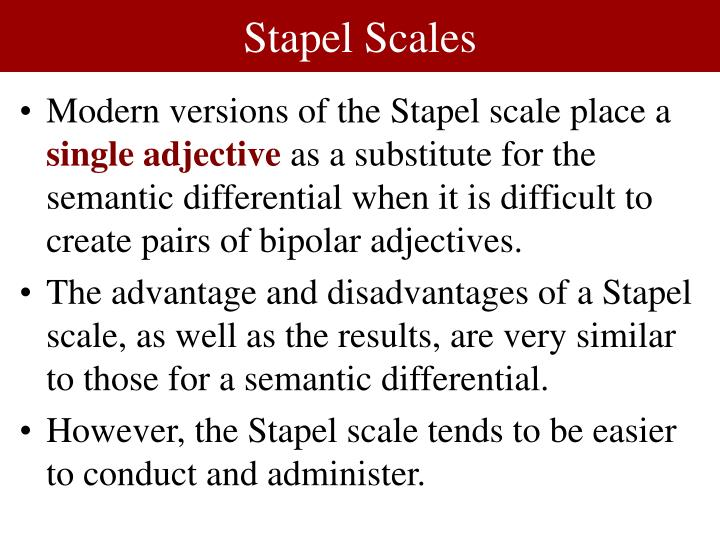 Stapel Scales