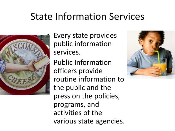State Information Services