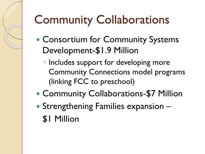 Community Collaborations