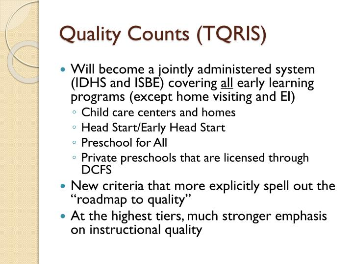 Quality Counts (TQRIS)