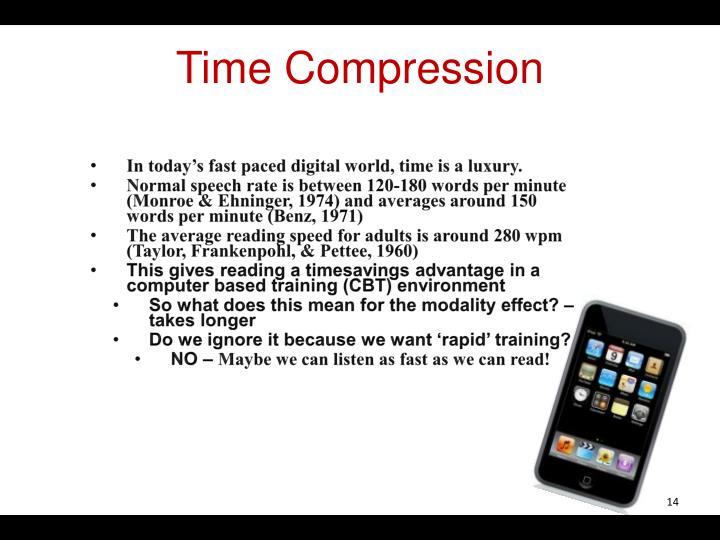 Time Compression