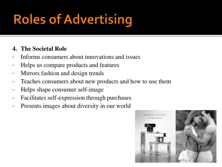 Roles of Advertising