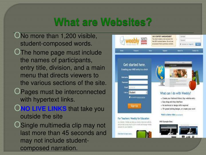 What are Websites?