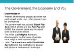 the government the economy and you1