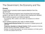 the government the economy and you2