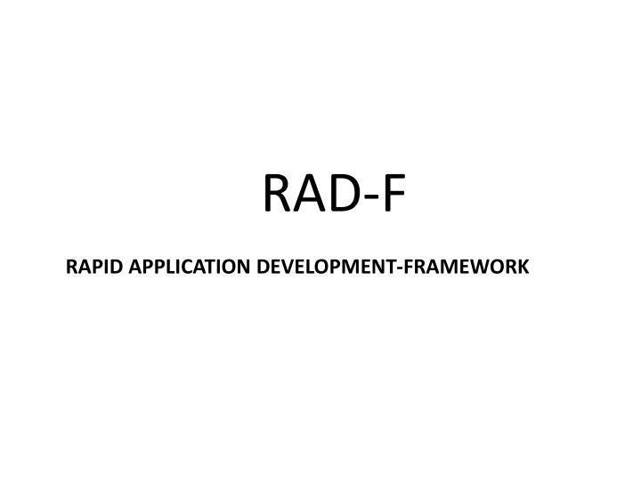 RAD-F