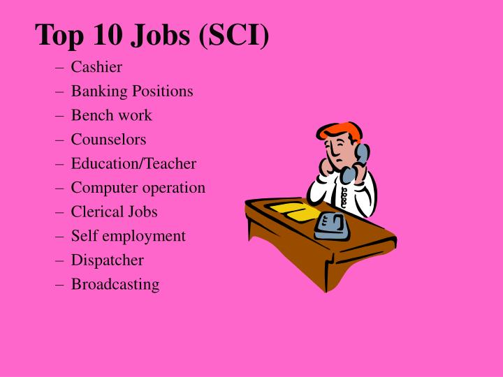 Top 10 Jobs (SCI)