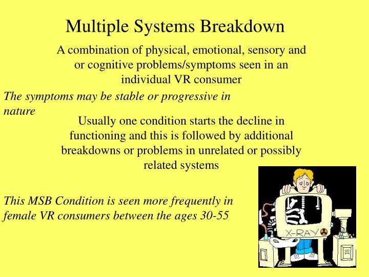 Multiple Systems Breakdown