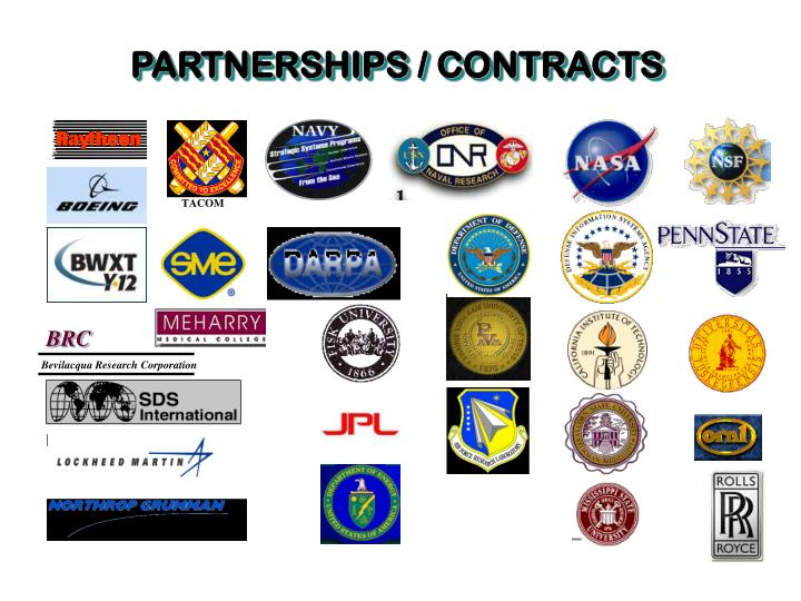 PARTNERSHIPS / CONTRACTS