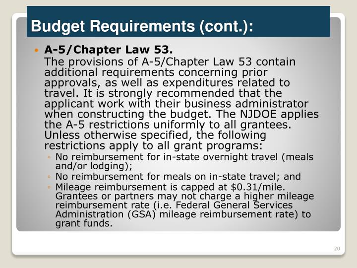 A-5/Chapter Law 53.