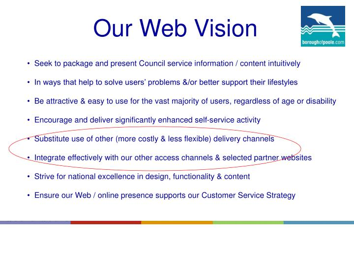 Our Web Vision