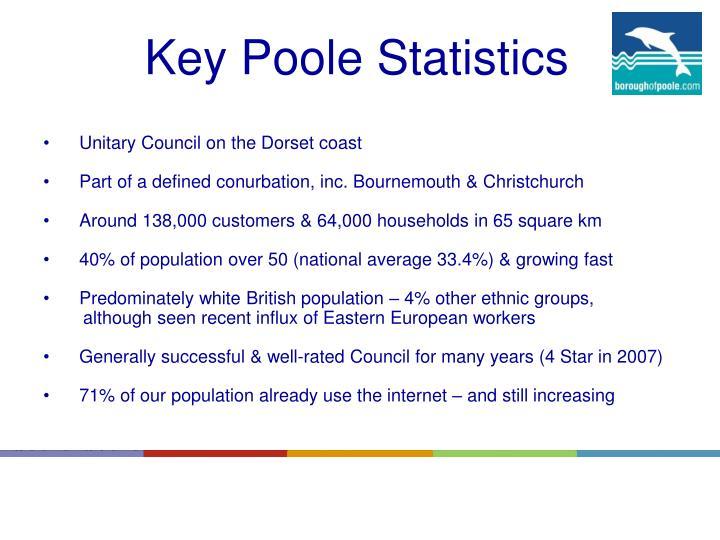 Key Poole Statistics