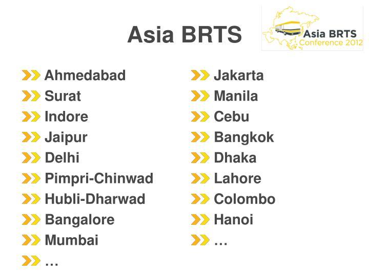 Asia BRTS