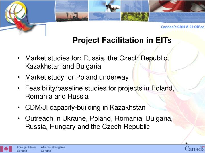 Project Facilitation in EITs