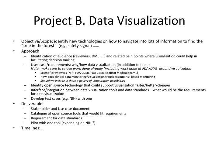 Project B. Data Visualization