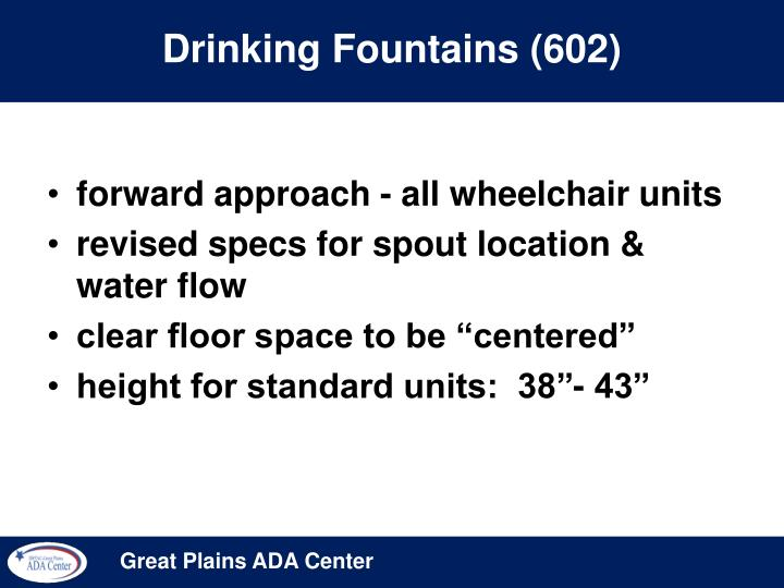 Drinking Fountains (602)
