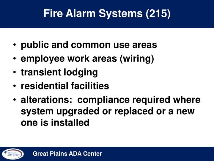 Fire Alarm Systems (215)